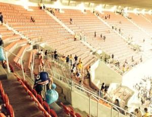 blue samoerais bij het WK2