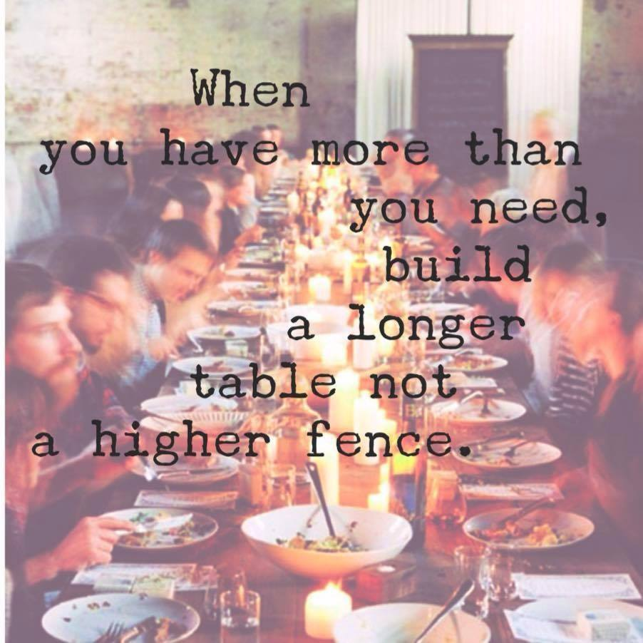 a longer table