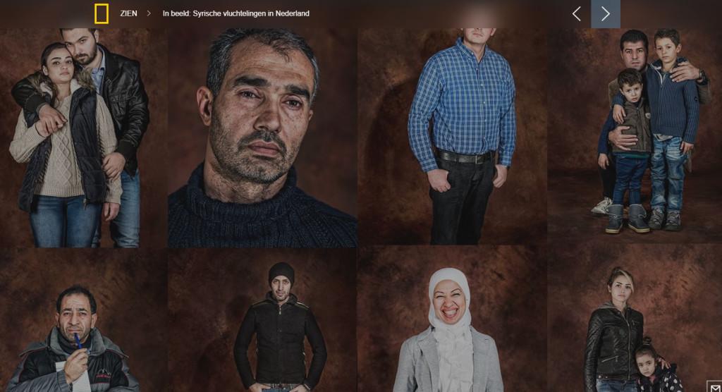 Vluchtelingen in beeld